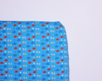 Little Fish Fitted Crib Sheet - Ready to Ship