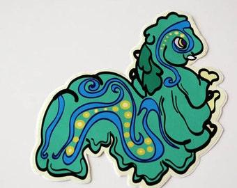 Sea slug vinyl