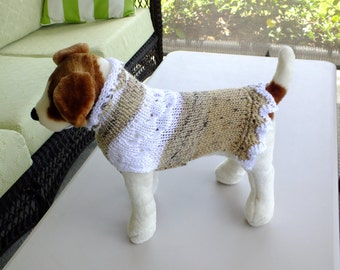 "Dog Sweater Noel Small 14""  long"