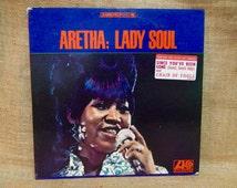 Aretha Franklin - Lady Soul - 1968 Vintage Vinyl Record Album...Australian Import