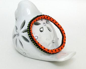 Beaded Bracelet - Beaded Crochet Bracelet - Crochet Jewelry
