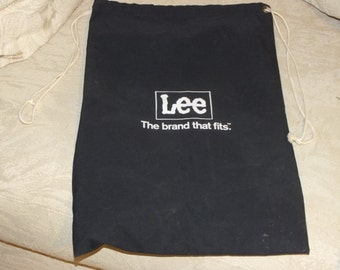 Lee, The Brand That Fits Laundry Bag, Tie String Bag, Lee Jeans