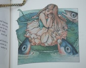 Vintage Hardcover Book. Thumbelina from Hans Christian Andersen. Printed in the USA.