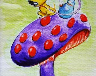 "Art Print ""Canis Fungus"""