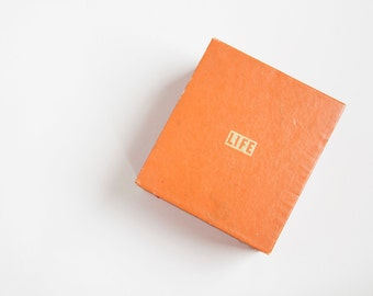 Vintage 1950s LIFE Magazine Recipe Box - 50s Recipe Box W/ Over 500 Recipes