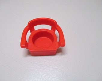Vintage Fisher Price Red Chair