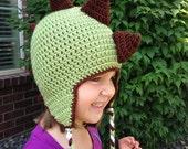 Dinosaur Hat Dino Beanie Crochet Spikes Earflap Dragon