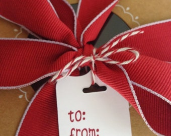 "Stampin' Up! Cherry Cobbler 1"" Stitched-Edge Ribbon"
