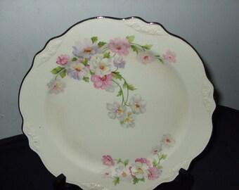 "Vintage Homer Laughlin Berry/Sauce/Dessert Bowl--""Fluffy Rose"""