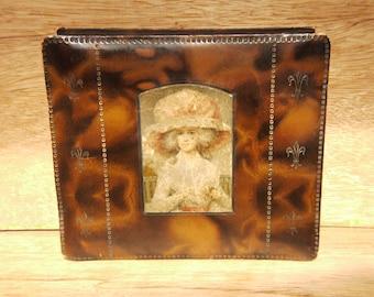 Chocolate Box Edwardian Chocolate Candy Box c.1900 Keepsake Box
