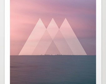 Triangle Seascape Photography Print