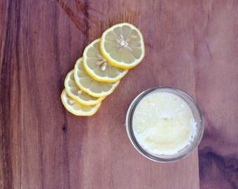 Lemon Sugar Scrub 1/4 Pint