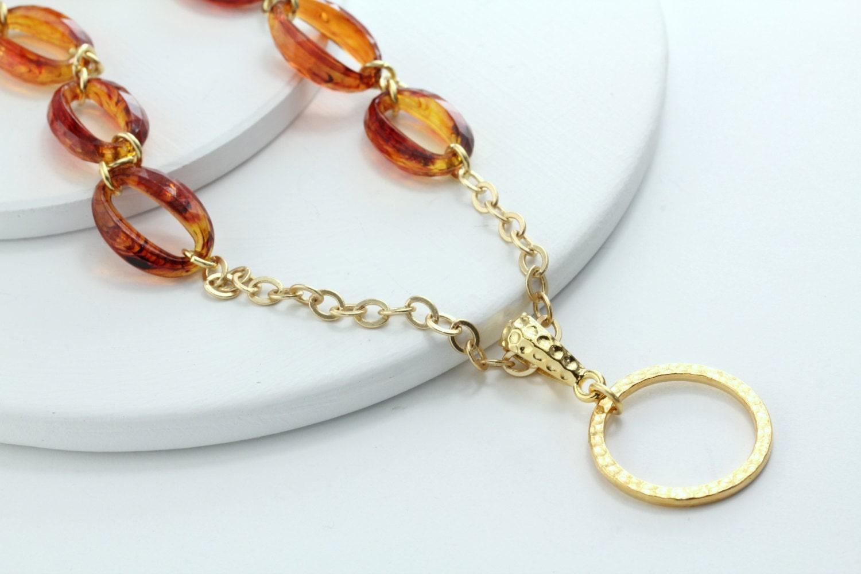 tortoise eyeglass chain gold eyeglass by maetri on etsy