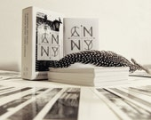Indie Tarot Card Deck, City Mystic Tarot: NYC, original black and white travel design photography Art Tar