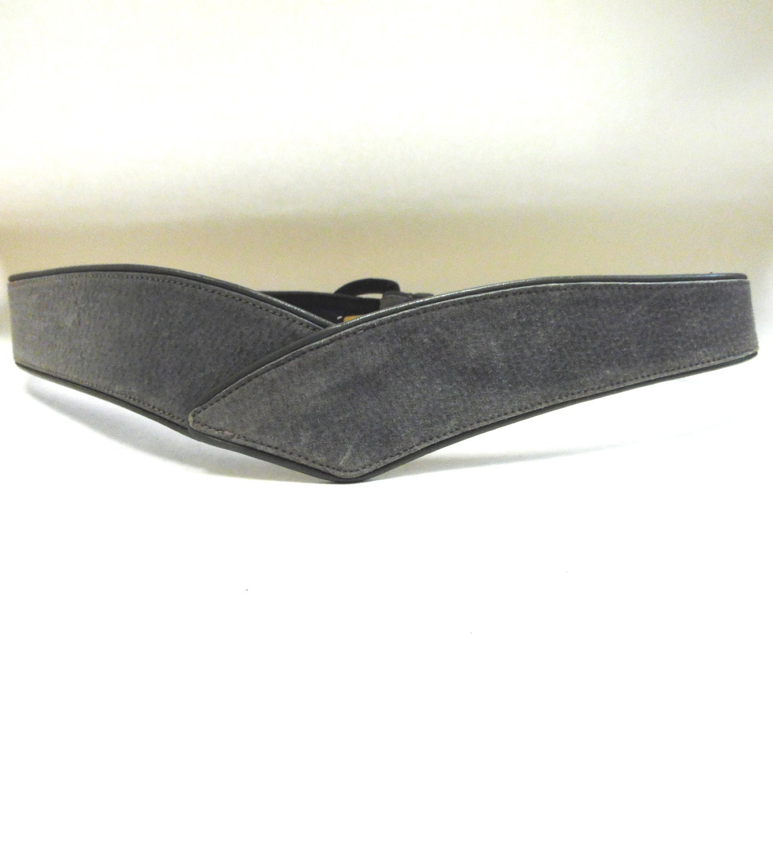 wide gray belt klein small waist corset cinch