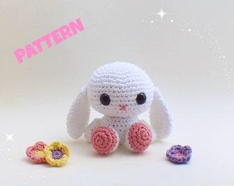 Bunny Pattern / Crochet Bunny Pattern / Crochet Halloween Pattern / Rabbit Pattern / Crochet Rabbit Pattern / Kids Patterns / Halloween Toys