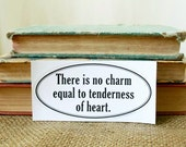 Jane Austen Emma - Bumper Sticker - Book Lover - Literary Quote - Literature - Readers Gift - Teachers Gift - Librarian Gift - Bookish