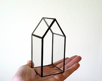 Terrarium / Glass House / Storage / Tiny House / House Terrarium /
