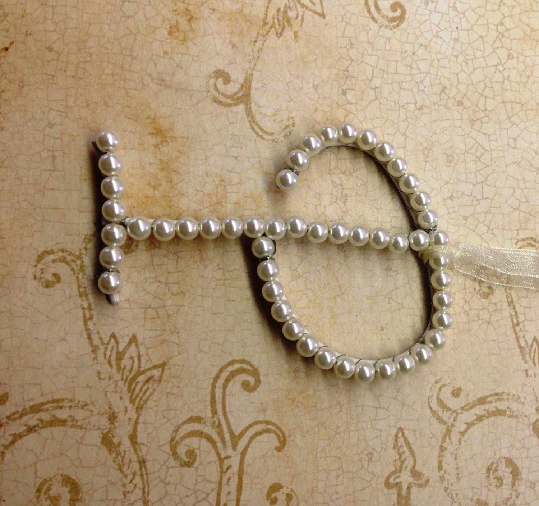 Letter p wedding