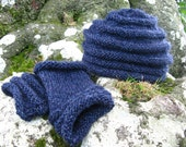 Sale - Lewesdon Hat and Mitts Knitting Kit
