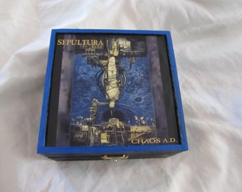 Sepultura Chaos A.D.  Keepsake Stash Box