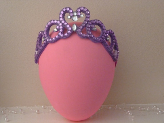 Purple Tiara Headband Plum Princess 1st Birthday Crown