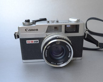 Rare Canon QL GIII Model in excellent usable condition