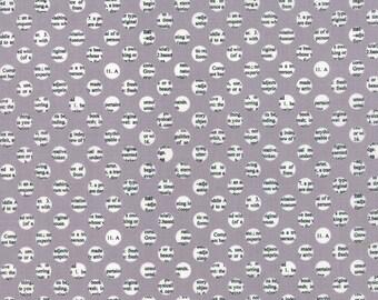 Holly's Tree Farm Gumdrops in Graphite, Sweetwater, Moda Fabrics, 100% Cotton Fabric, 5586 16