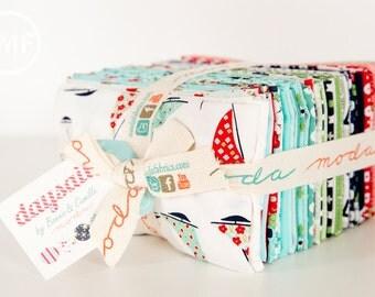 Daysail Fat Eighth Bundle, Bonnie and Camille, Moda Fabrics, Precuts, 55100F8