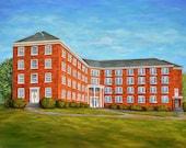 Fine Art Print- WMU Dorm, Historic Judson College, Marion Alabama