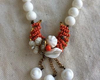 Miriam Haskell vintage necklace