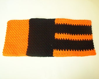 Dishcloths Set - Trick or Treat - Set of 3 in Orange, Black, and Orange/Black Stripes