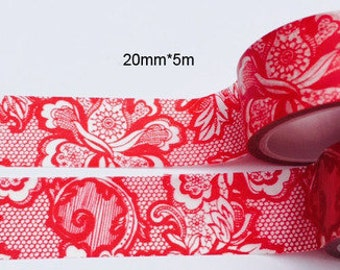 Pattern Washi Tape (20mm X 5M)