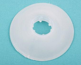 "8 KUMIHIMO Bobbins for Braiding, 2.3"" diameter, for jewelry braiding,  tol0405"