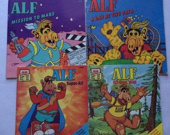 1980's Alf Books