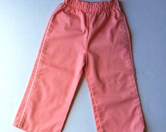 Vintage Peach Piped Health-tex Pants (2t)