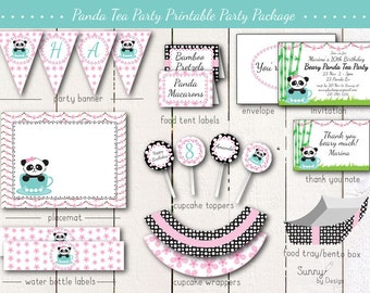 Fairy Garden Party Printable Party Package