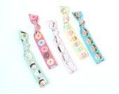 Foodie Cutie - 5  Comfort Elastic Hair Ties / Bands / Bracelets