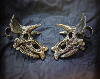 Triceratops Ear Weights