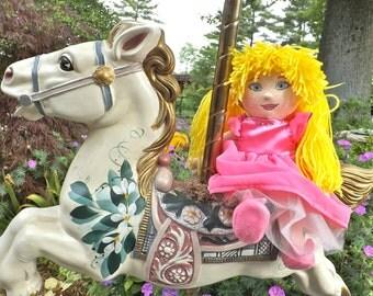 I PRINCESS Handmade Princess Rag Doll You Customize