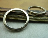 20pcs 30mm  White K key ring /jump rings charm pendants, Necklace Jewelry pendants,Bracelets fittings