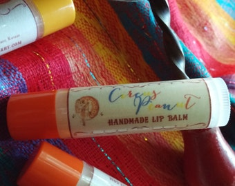 Circus Peanut - Handcrafted Lip Balm