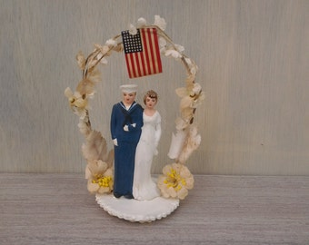 sailor and mermaid wedding cake topper unavailable listing on etsy 19618