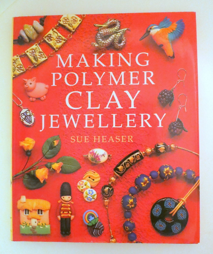 Making Polymer Clay Jewelry-Detailed Full Color HD Cover ...