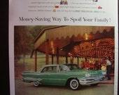 Vintage Magazine Original Promo Ad 1960's Dodge Dart - Great for Framing