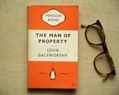 Old Penguin Forsyte Saga paperback book The Man of Property by John Galsworthy