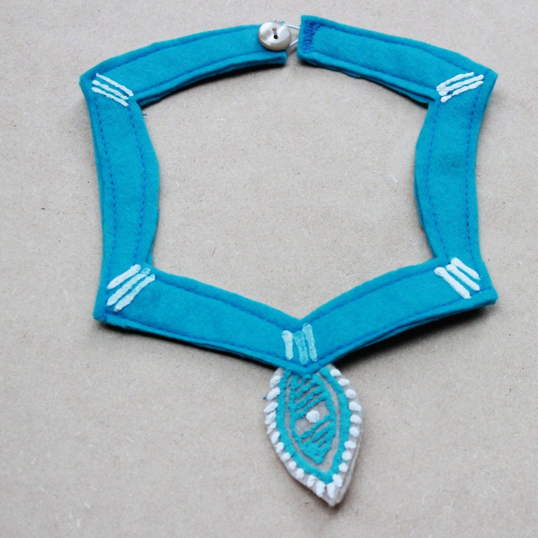 pocahontas necklace tribal design necklace handmade