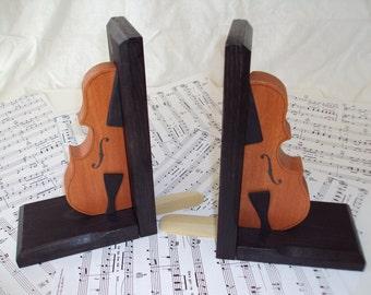 Violin Bookends