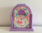 Fairy Winkles Twinkle Time Nursery Clock - Vintage - Kenner 1993 - Doll House - Fairy House