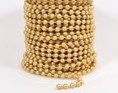 4.5mm Ball Chain - Matte Gold - CH98-MG - Choose Your Length